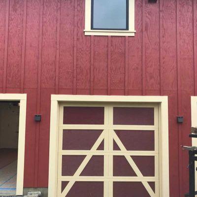 steel overlay carriage garage doors pleasant hill | madden
