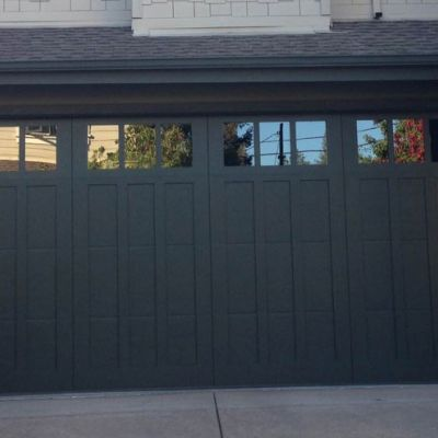 Steel Overlay Carriage Garage Doors Pleasant Hill Madden Garage