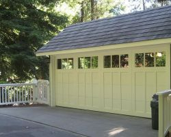 Steel Overlay Carriage Garage Doors