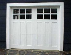 Custom Paint Grade Garage Door1
