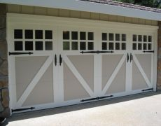 Custom Paint Grade Garage Door10