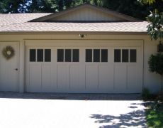 Custom Paint Grade Garage Door11