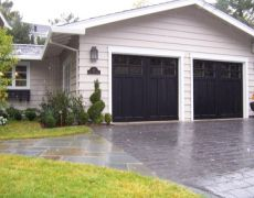 Custom Paint Grade Garage Door12