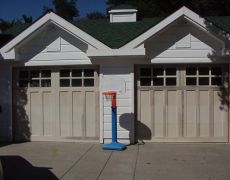 Custom Paint Grade Garage Door14