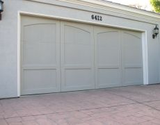 Custom Paint Grade Garage Door16