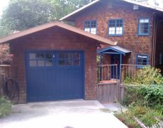 Custom Paint Grade Garage Door18