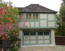 Custom Paint Grade Garage Door19