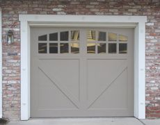 Custom Paint Grade Garage Door2