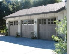 Custom Paint Grade Garage Door4