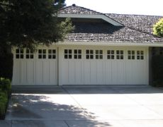 Custom Paint Grade Garage Door7