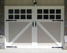 Custom Paint Grade Garage Door8