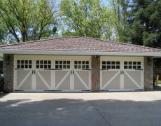 Custom Paint Grade Garage Door9