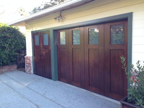 Unique custom design garage doors madden garage doors for Bay area garage doors
