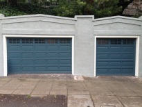 Wood Stile and Rail Garage Doors