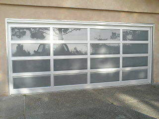 clear garage doorsModern  Contemporary Garage Door Design and Installation  Madden