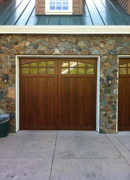 Custom Stain Grade Garage Doors Selections Madden Door