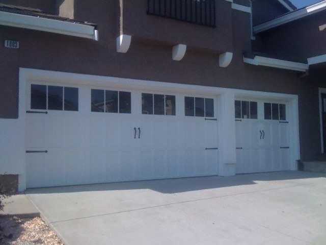 Steel Overlay Carriage Garage Doors Pleasant Hill Madden Garage