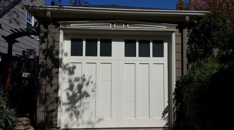 Single Car Garage Door One