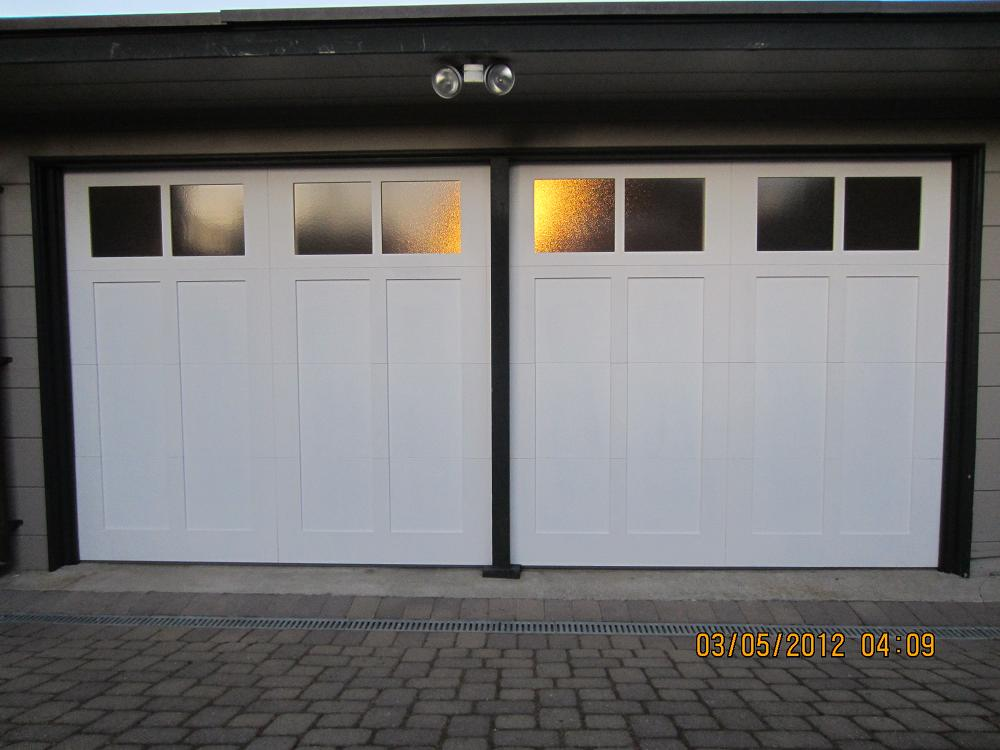 Steel Overlay Carriage Garage Doors Pleasant Hill Madden