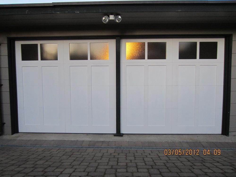 Steel Overlay Carriage Garage Doors Pleasant Hill Madden