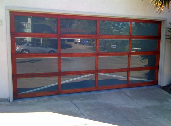 Gentil All Glass And Wood Full View Stain Grade   Garage Doors | Residential Garage  Doors | Garage Door Service Martinez 925 357 9781
