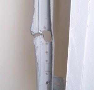 Garage Door Fell Off Tracks 925 357 9781 Serving The