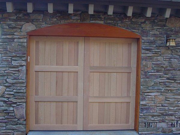 Custom Wood Garage Doors Lafayette Ca Area 925 357 9781 We Service