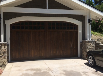 Oversized garage doors 925 357 9781 madden door sons for Tall garage doors
