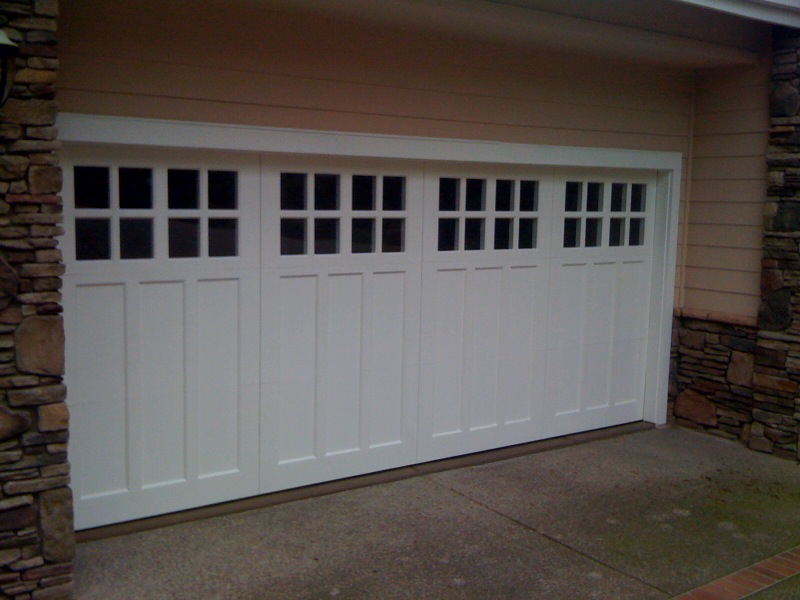 Custom Paint Grade Garage Doors Brentwood Pittsburgh