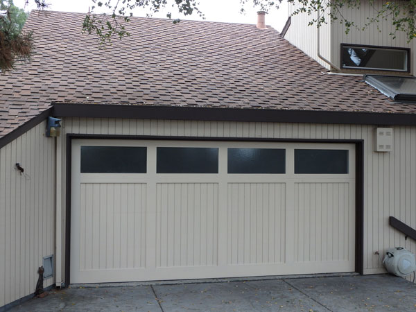 Custom Paint Grade Garage Door22