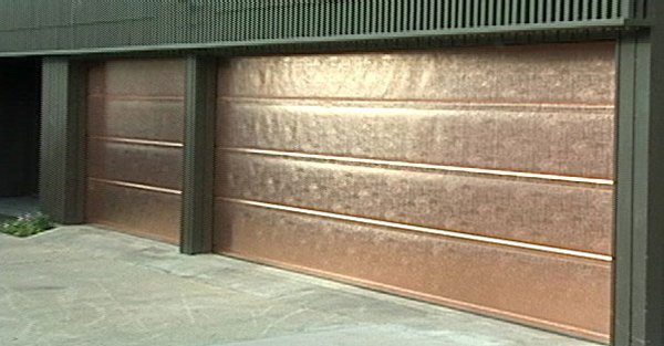 Distinctive Copper Garage Doors From The Bay Area Experts