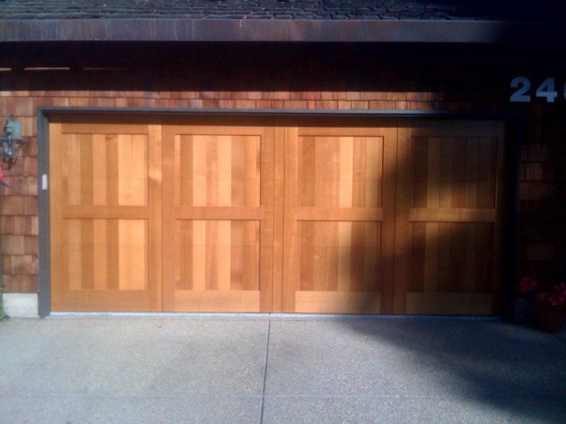 Custom garage door installations bay area san francisco for Bay area garage doors