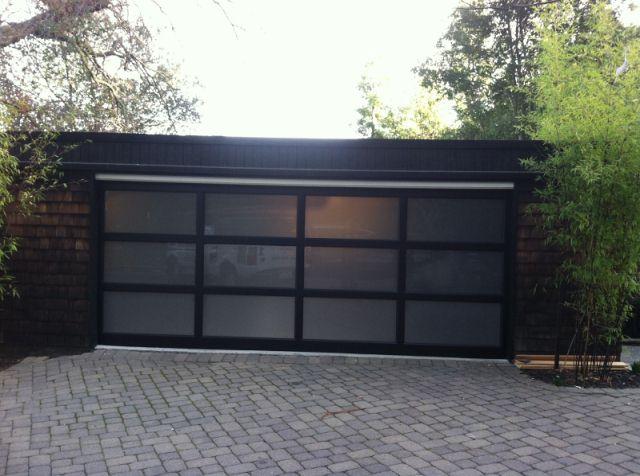 Modern Contemporary Garage Door Design And Installation