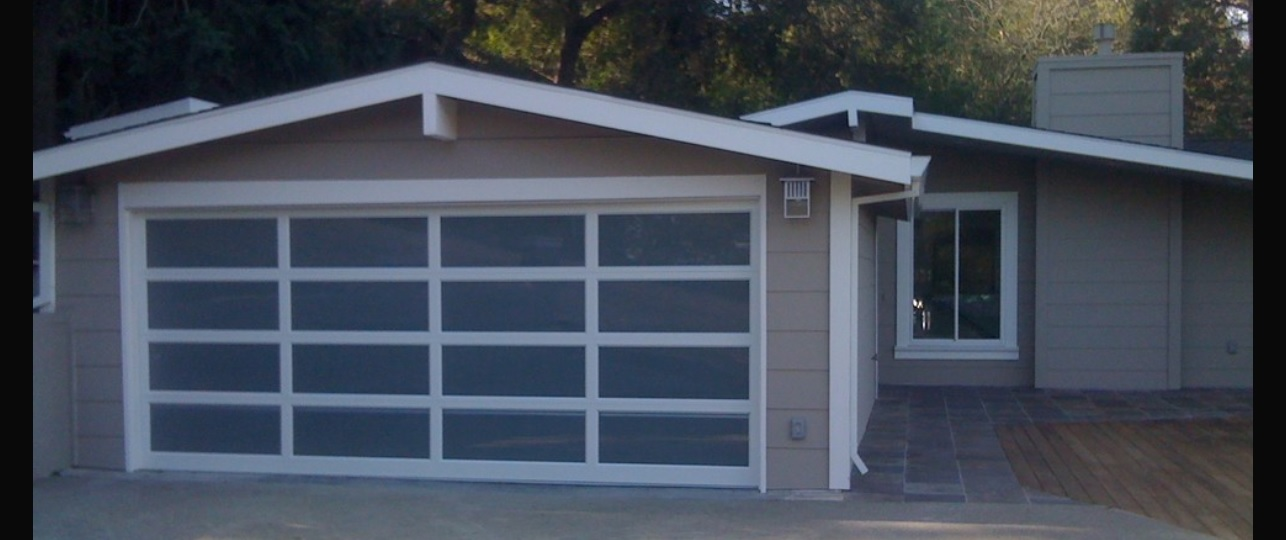 Modern / Contemporary Garage Door Design and Installation - Madden on signs and more, kitchen cabinets and more, painting and more, air conditioning and more, blinds and more,