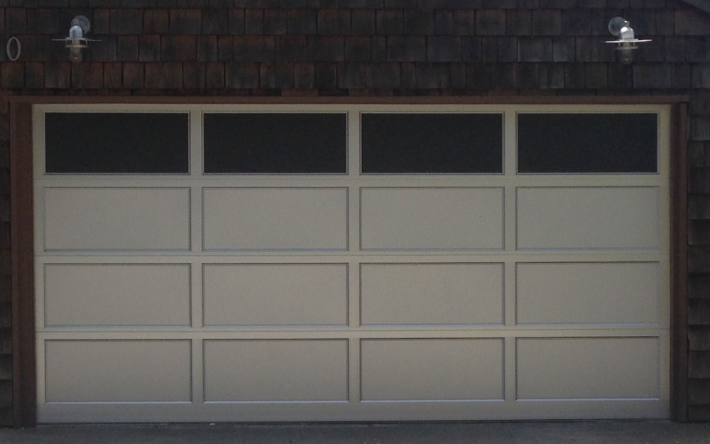 modern contemporary garage door design and installation madden door sf bay area concord walnut creek burlingame alameda berkeley - Garage Door With Door