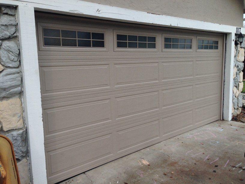 Steel garage doors metal garage doors concord for Concord garage door