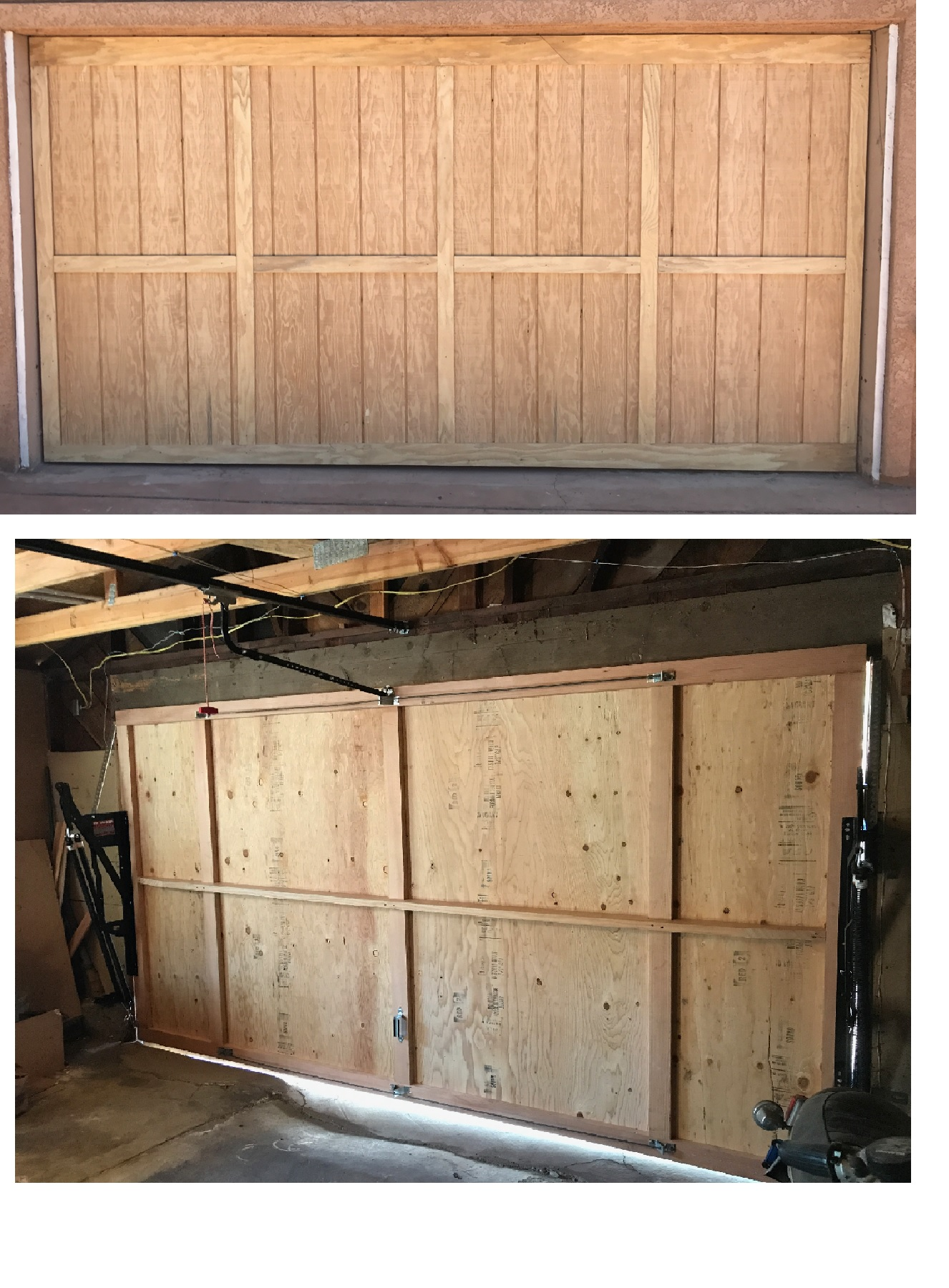 handcrafted overhead atl news wood cedar company doors custom door stunning garage